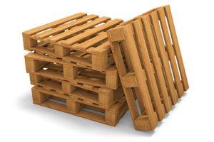 Wooden Box Palletisation