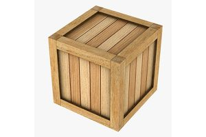 Cargo Wooden Boxes