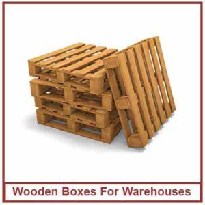 wooden boxes for warehouses - Wooden Box Export Type Manufacturer in India