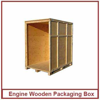 engine wooden packaging box - wooden packing box latest price in india