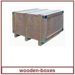 wooden boxes - wooden box palletisation manufacturer in India