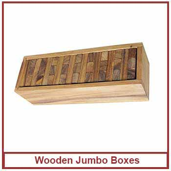 wooden jumbo boxes - wooden crates for fruits and vegetables in India